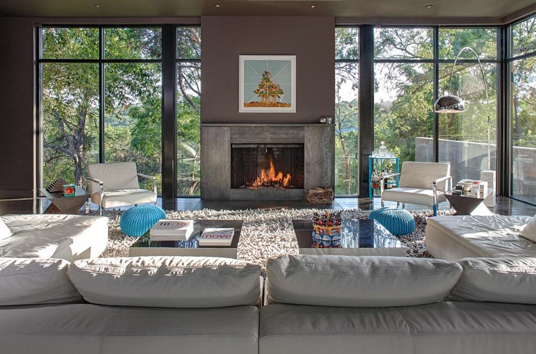 Belle Maison R Nov E Au Design Moderne Et D Co Contrast E