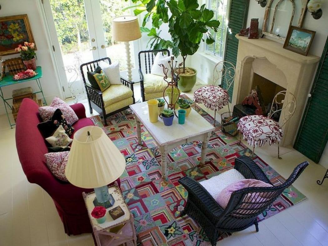 Maison de vacances à la déco intérieure éclectique  Vivons maison