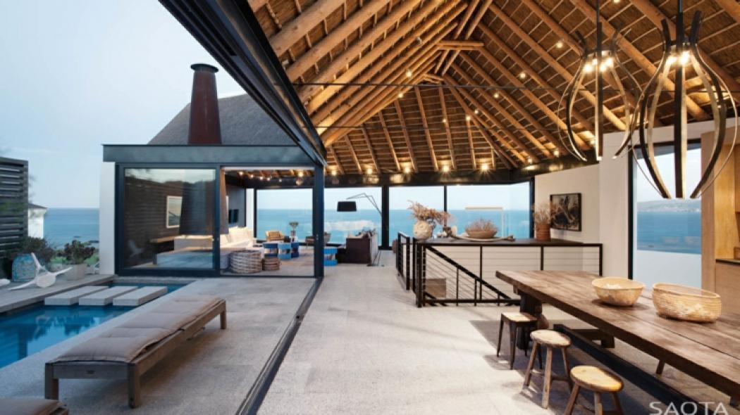 vacances exotique maison de plage