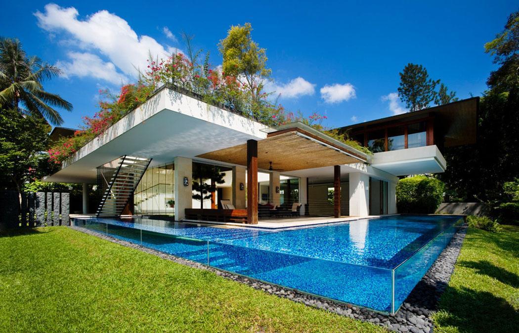 Charmant Architecture Moderne Maison Contemporaine Exotique Luxe