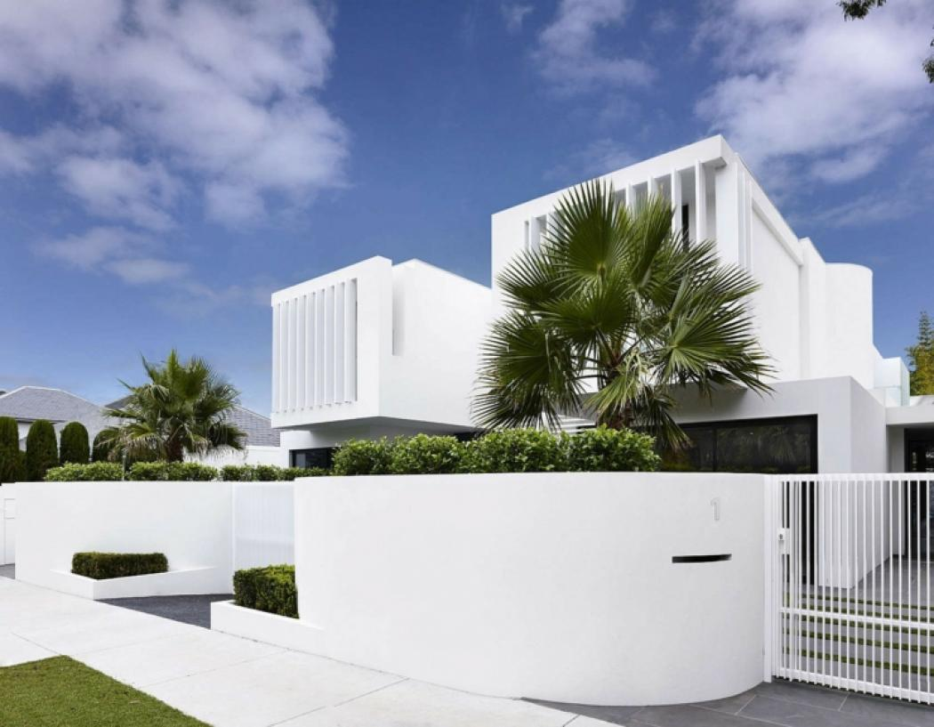 Maisons mitoyennes l architecture contemporaine vivons - Maison design moderne capital building ...