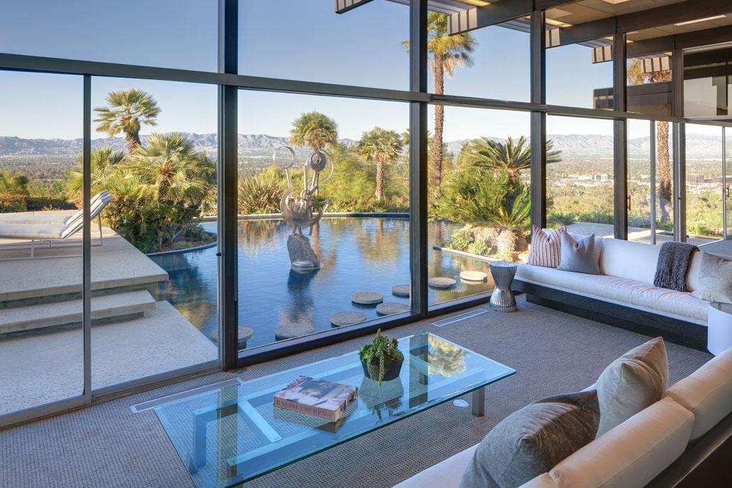 Maison d architecte embl matique en californie en vente - Architecture contemporaine residence parks ...