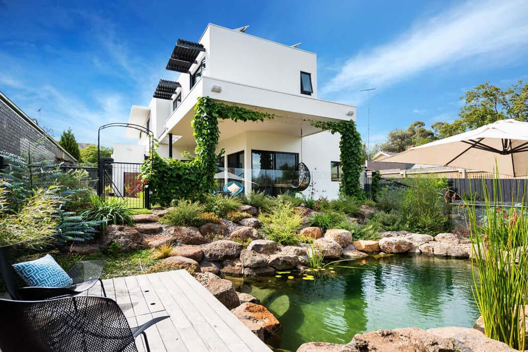 Originale maison contemporaine sur la c te australienne for Architecture originale