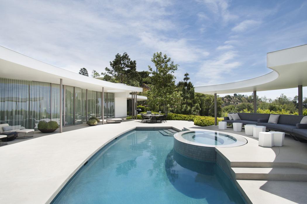 superbe maison d'architecte totalement rénovée à beverly hills