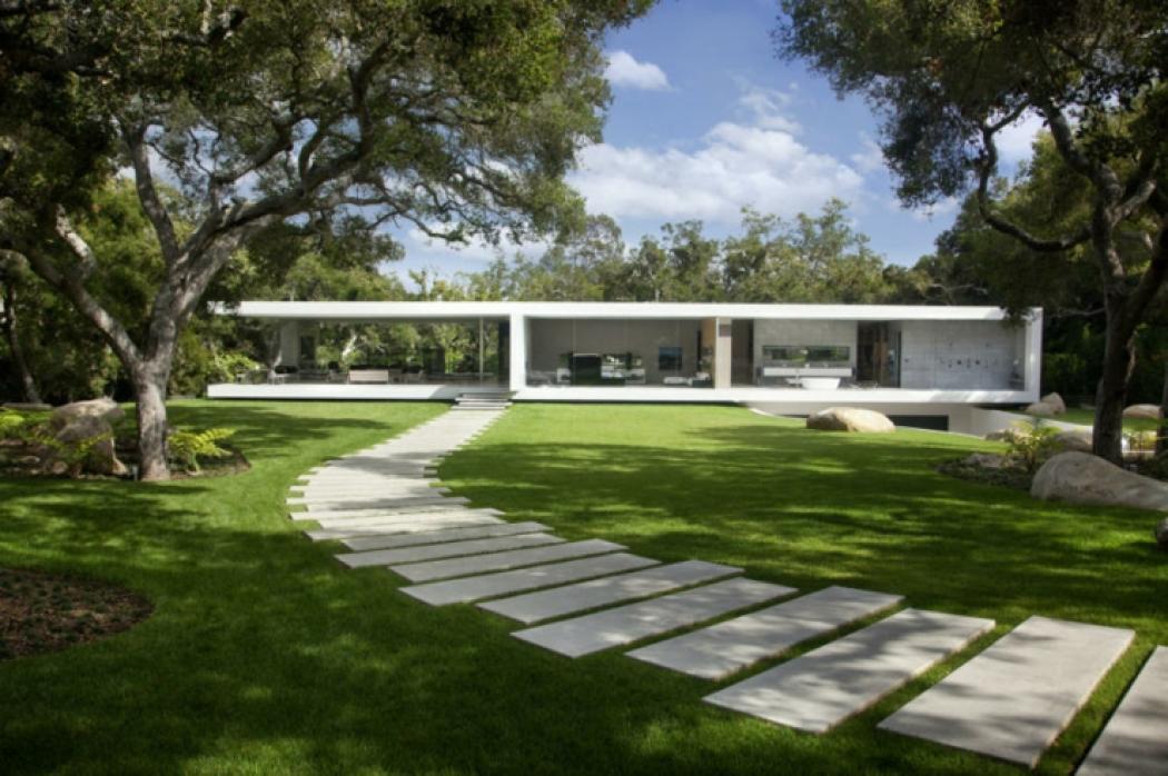 belle demeure de luxe résidence en verre californie