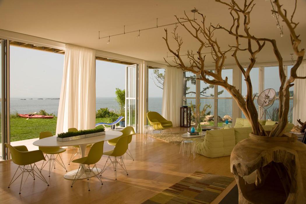 belle résidence secondaire située sur la côte