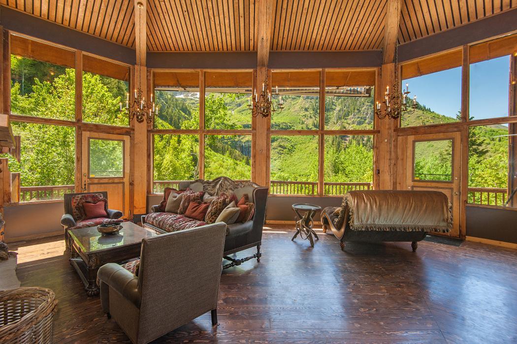 design luxe rustique maison secondaire