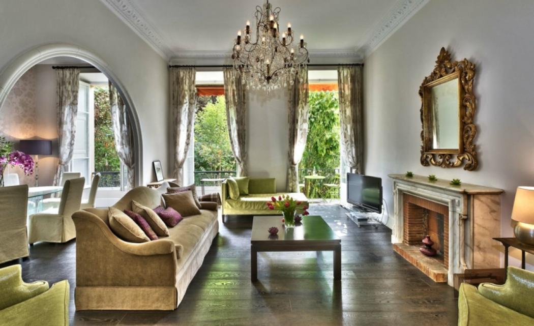 maison moderne de luxe interieur salon. Black Bedroom Furniture Sets. Home Design Ideas