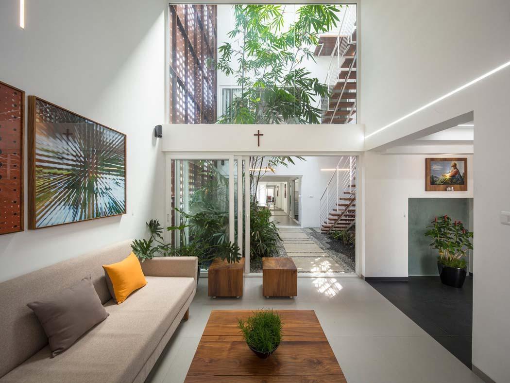 Assez Maison familiale à l'agencement et architecture originale à Kerala  KB69