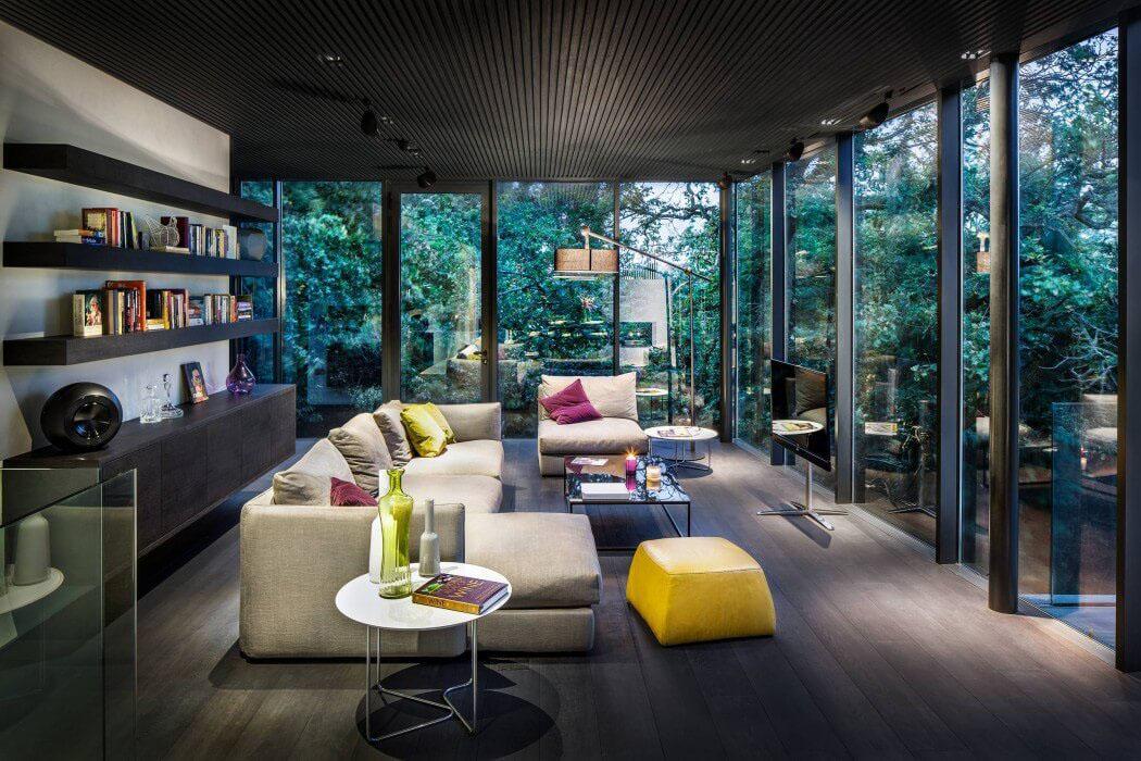 Projet de modernisation et d agrandissement de cette jolie - La demeure moderne gb house par mmeb architects ...