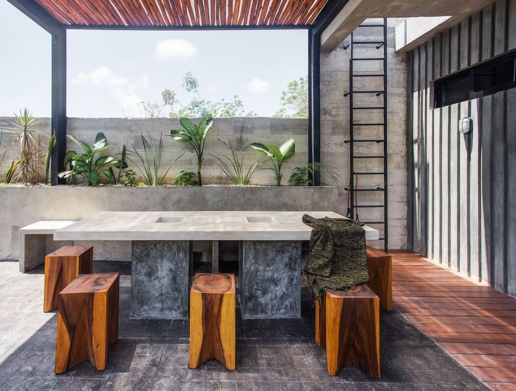 design rustique maison de vacances exotiques