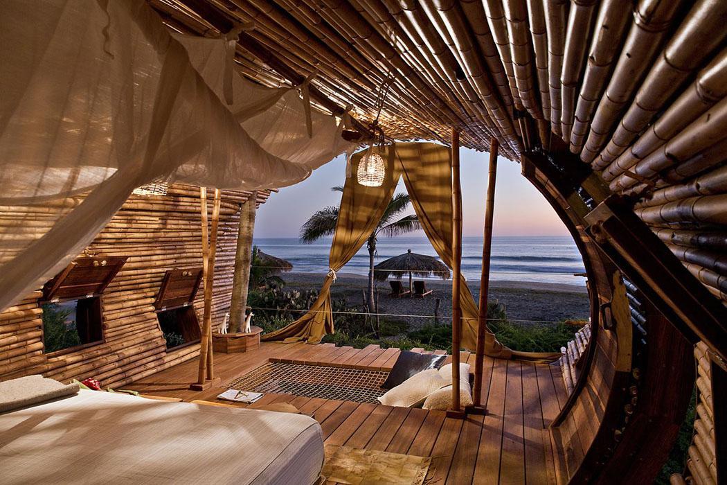 villa écologique verte plage retraite exotique mexique
