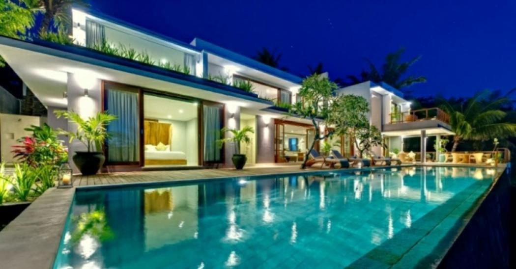 Belle villa louer pour un d paysement complet vivons Villa a louer bali