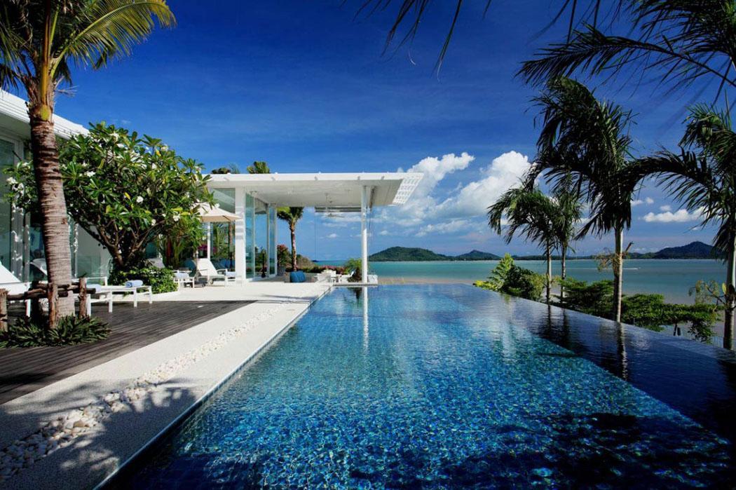 Splendide villa de luxe face l oc an situ e phuket - Vacances a la montagne villa rustique aspen ...