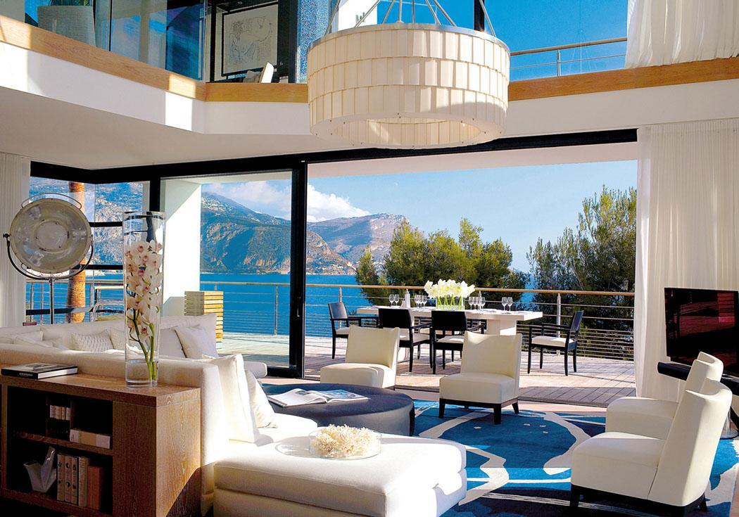 vacances de luxe côte d'Azur France villa à louer