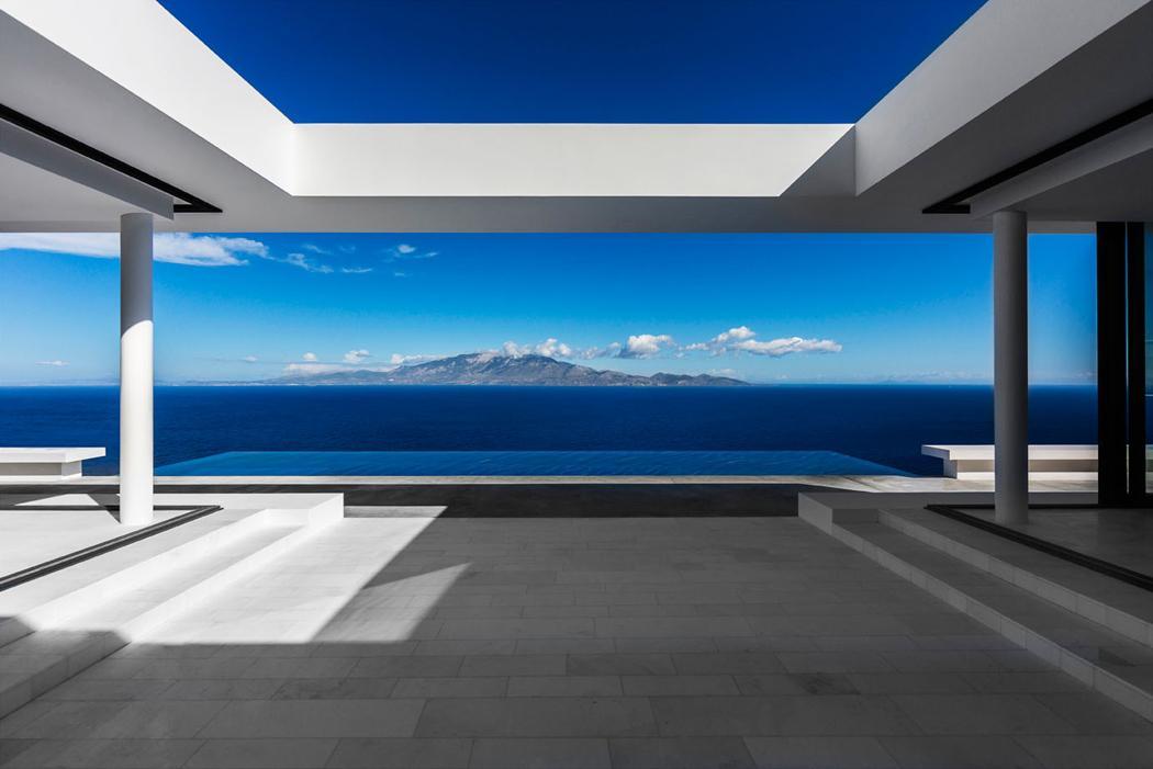 Résidence de vacances d'architecte