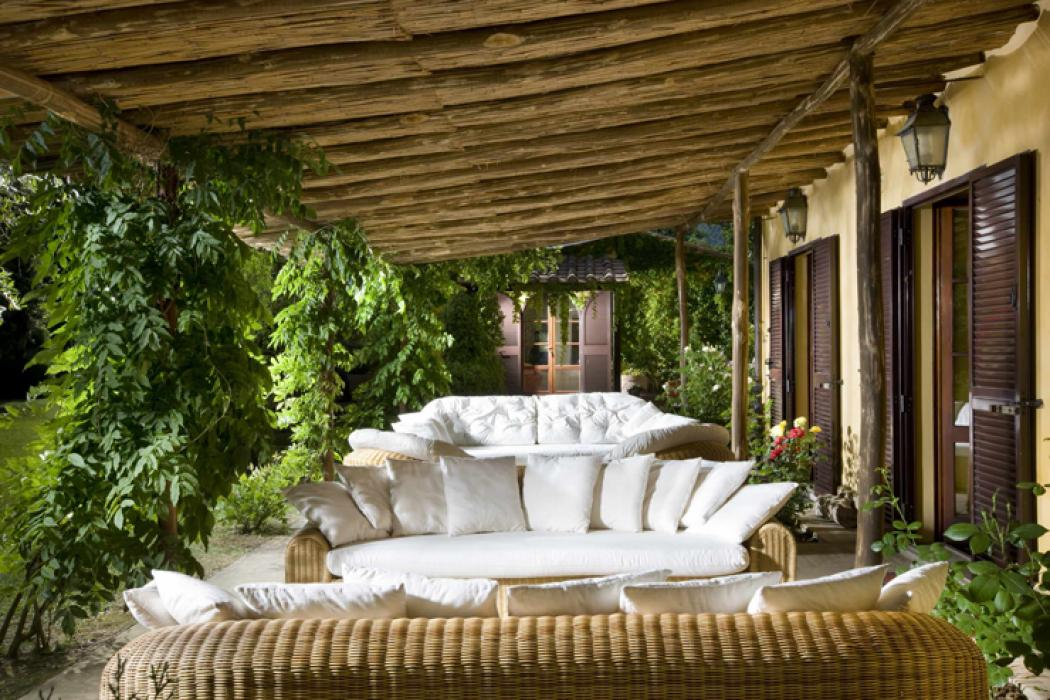 L'espace outdoor villa de vacances luxe