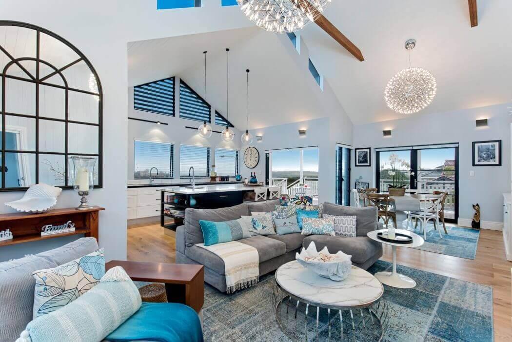 design intérieur moderne avancée de maison extension contemporaine