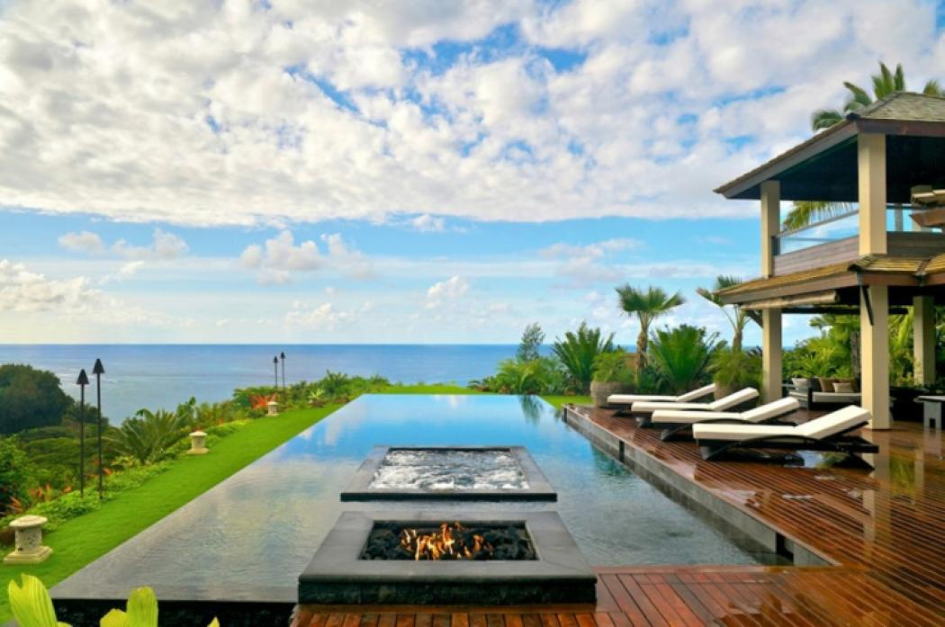 sublime villa de luxe vacances hawaii