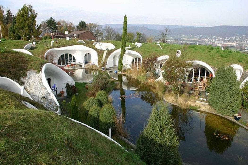 maison d'architecte modèle futuriste