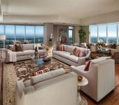 séjour design moderne appartement de standing