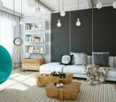 appartement décoration éclectique artistique