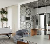 design intérieur créatif appartement masculin célibataire
