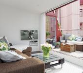 appartement citadin design intérieur scandinave