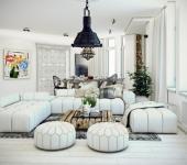 design intérieur luxe appartement citadin