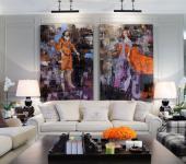 design intérieur art appartement de ville