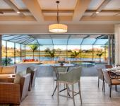 villa de luxe piscine intérieure prestige