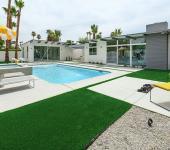 maison de luxe piscine extérieure