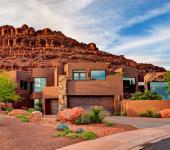 résidence de luxe en plein désert