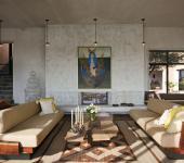 villa au design industriel et rustique