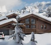 chalet rustique Courchevel de grand standing