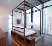 design intérieur luxe chambre avec vue