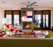 Décoration intérieure maison familiale moderne