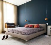 chambre spacieuse moderne design