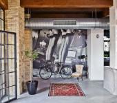 intérieur design masculin loft