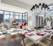 séjour moderne design luxe appartement de ville