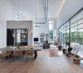 design intérieur industriel et chic maison familiale