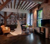 design intérieur industriel loft de ville