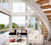 intérieur unique maison moderne californie
