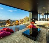 Séjour de luxe avec vue panoramique sur le désert