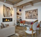 belle demeure à la décoration électique d'intérieur