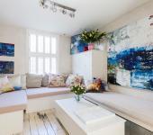 intérieur inspiration très artistique belle demeure de charme