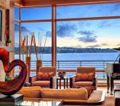 vue splendide maison de luxe