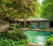 terrain verdoyant maison familiale plein nature