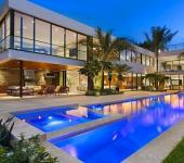 résidence secondaire de luxe à miami