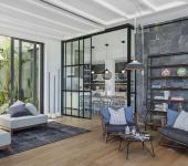 belle demeure intérieur éclectique design